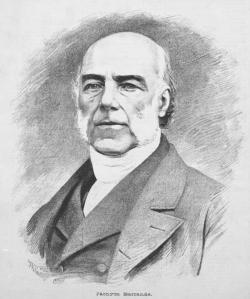 Joachim Barrande, francouzský inženýr proslavil v 19. století české prvohorní lokality v celém vědeckém světě. Zdroj: Wikipedie