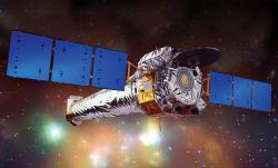 Rentgenová observatoř Chandra. Kredit: NASA / CXC / NGST.
