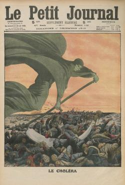 Cholera (Kredit: Le Petit Journal, Bibliothèque nationale de France, Public doamin)