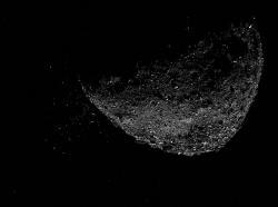 Planetka Bennu, leden 2019. Kredit: NASA/Goddard/University of Arizona/Lockheed Martin / Wikimedia Commons.