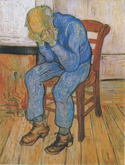 "Vincent Van Gogh: ""Smutný starý muž""."