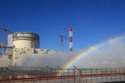Běloruská jaderná elektrárna (zdroj Rosatom).