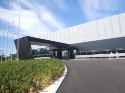 Nová administrativní budova v elektrárně Fukušima I (zdroj TEPCO).