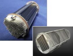 Tepelný výměník s mikrotrubičkami. Zdroj: spaceflight101.com