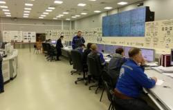 Spouštění reaktoru VVER-1200 v Leningradské jaderné elektrárně (zdroj Rosatom).