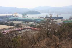 Záběr na část továrny Doosan (zdroj Igor Jex).