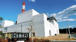Japonský testovací vysokoteplotní plynem chlazený reaktor HTTR (zdroj JAEA).