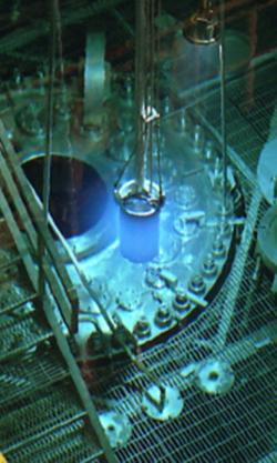 Materi�ly pro ter�e z transuranu jsou p�ipravov�ny ve v�zkumn�m reaktoru s velmi vysok�m tokem neutron� v laborato�i ORNL v Oak Ridge. Zde z�skan� ter�e se vyu��vaj� jak S�JV Dubna tak v GSI Darmstadt (zdroj ORNL).