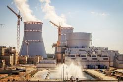Blok Leningrad II-1 začal dodávat elektřinu (zdroj Leningradská jaderná elektrárna).