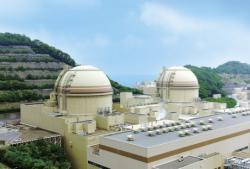 Bloky 3 a 4 elektrárny Ói (zdroj KEPCO).