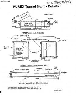 Podrobnější schéma tunelu číslo 1 (zdroj