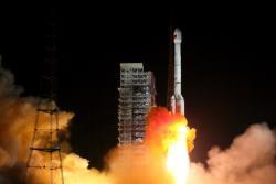 Start rakety se sondou Čchang-e 4 video ze startu je zde: https://www.youtube.com/watch?v=CZYNfnz3RBo