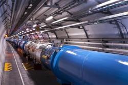 Útroby Velkého hadronového srážeče. Kredit: CERN