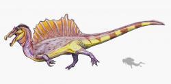 Největším dnes známým teropodem je africký spinosaurid Spinosaurus aegyptiacus, jehož vědecké rekonstrukce prošly v posledních dvou letech výraznou proměnou. Jako jediný dosud známý teropod přesáhl prokazatelně délku 15 metrů. Kredit: ДиБгд, Wikipedie (CC BY-SA 4.0)
