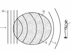 Princip ochranného štítu spočívá v prudké změně teploty v místě, kudy obávaná tlaková vlna bude procházet. Ve vymezeném  prostoru elektromagnetické pole zajistí krátkodobě odlišné medium. Je v podstatě jedno zda u přepravy energie do příslušných míst asistuje elektrický proud,  paprsek laseru, nebo mikrovlny. Hlavní je, aby se v daném místě začaly elektrony odpoutávat od molekul vzduchu a urychlené elektrickým polem vrážely do dalších. Kaskádovitý děj pak mění průchodnost elektromagnetických vln a prostředí rychle absorbuje jejich energii, teplota v tomto místě raketově stoupne a krátkodobě vytvoří rázové vlně štít.