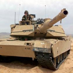 M1A2 Abrams. Příště už do akce sdrony. Kredit: US Army.