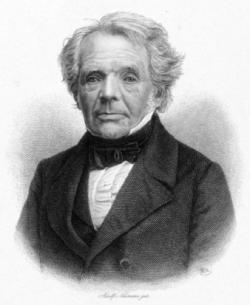 August Ferdinand Möbius,německýmatematika teoretickýastronom. Položil základytopologie(vědy která se zabývá matematickými vlastnostmi prostoru). Nejčastěji se o něm mluví v souvislosti s tzv.Möbiovou páskou, což je trojrozměrný útvar, který má pouze jednu stranu, z čehož vyplývají i další zajímavé topologické vlastnosti, např.neorientovatelnost.