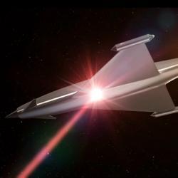 Dočkáme se vdohledné budoucnosti laserových štítů? Kredit: BAE Systems.