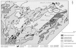 Třeba nám teď něco víc řeknou i usazeniny od Kralup, Štěchovic či Plzně. Vrstva  toho našeho proterozoika Barrandienu, představuje mnohde až deset kilometrů mocný sled mořských sedimentů. Škoda, že už jsou metamorfované, ale kdo ví... (Kredit: Chlupáč a kol.:2002)