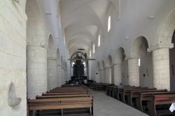 Klášterní bazilika v Milevsku, 1184-1187 a pozdější přestavby. Kredit: Archiv autora článku.