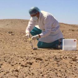 Pouště La Joya Pampas jsou doopravdy jako na Marsu. Kredit: Julio