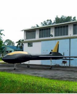 Black Eagle. Kredit: Kelley Aerospace.