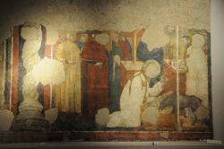 Freska z kostela sv. Františka, asi 13.století. Museo Diocesano di Rieti. Kredit: Lazio Futouring, Wikimedia Commons.