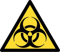Biohazard. Kredit: Wikimedia Commons.