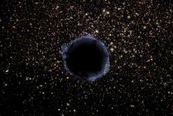 Pro primordiální černé díry to nevypadá příliš dobře. Kredit: NASA/ESA and G. Bacon (STScI).