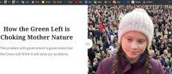 Jak zelená levice škrtí matku přírodu