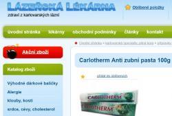 V lázeňské lékárně nám doporučí i zubní pastu s triclosanem.