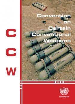 Úmluva o některých konvenčních zbraních. Kredit: United Nations.