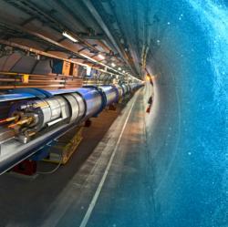 Kam směřují srážeče? Kredit: Daniel Dominguez & Maximilien Brice / CERN.