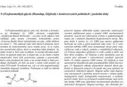 Článek profesora Drašara vChemických listech
