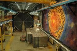 Detektor projektu MINOS vSoudanu. Kredit: ShakataGaNai, Wikimedia Commons.
