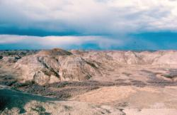 Dinosaur Park Formation, Alberta. Kredit: Anky-man / Wikimedia Commons.