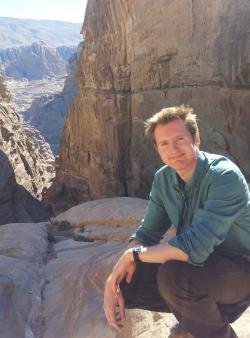 Dr. Mike Buckley, vůdčí osobnost buřičského týmu University of Manchester's School of Earth and Environmental Sciences