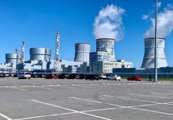 Druhá fáze Leningradské jaderné elektrárny (zdroj Rosenergoatom).