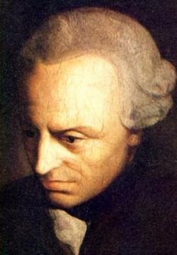 Immanul Kant (1724-1804). Anonym, 1790. Kredit: Wikipedie via Wikimedia Commons