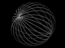 Jedna zmnoha podob Dysonovy sféry. Kredit: Vedexent / Wikimedia commons.