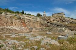 Telestérion, tedy hala zasvěcení, 435 až 421 před n. l. Kredit: Carole Raddato, Wikimedia Commons.