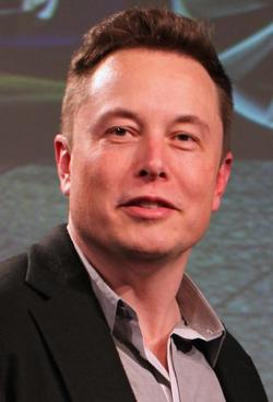 Elon Musk (2015). Kredit: Steve Jurvetson / Wikmedia Commons.