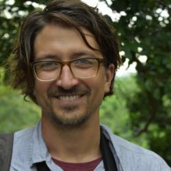 Biolog Erick Lundgren, první autor studie. Kredit: University of Technology v Sydney.
