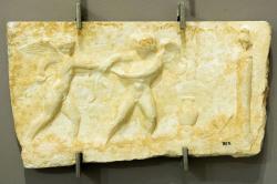 Erós a Anteros, 2. století n. l. Archeologické muzeum v Hérakliu na Krétě. Kredit: Wikimedia Commons.