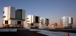 Evropská jižní observatoř(ESO). Cerro Paranal,Atacama, Chile.