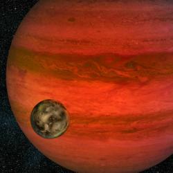 Najdeme život u exoměsíců? Kredit: NASA / JPL-Caltech.