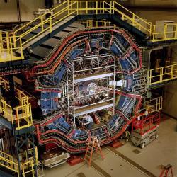 Experiment STAR v Brokhavenu (zdroj BNL).