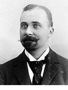 Felix Hoffmann, chemik firmy Bayer, často zmiňovaný jako objevitel aspirinu.
