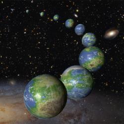 Vzniklo zatím jen málo Zemí? Kredit: NASA, ESA, & G. Bacon (STScI).