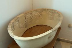 Vana (asaminthos) z Fylakopi. Pozdní doba bronzová I. Fylakopi III/1. Archeologické muzeum na Mélu, B 885. Kredit: Zde, Wikimedia Commons.